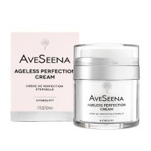 AveSeena | Ageless Perfection Cream | Natural Facial Cream for Sensitive, Oily or Dry Skin - For Women and Men (1.7 fl oz/50 ml Airless Jar).