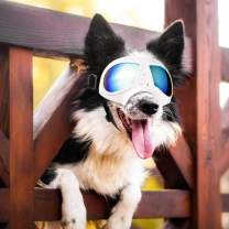 PETLESO Dog Goggles- Large Breed Dog Goggles Eye Protection Sunglasses for Outdoor Driving Cycling