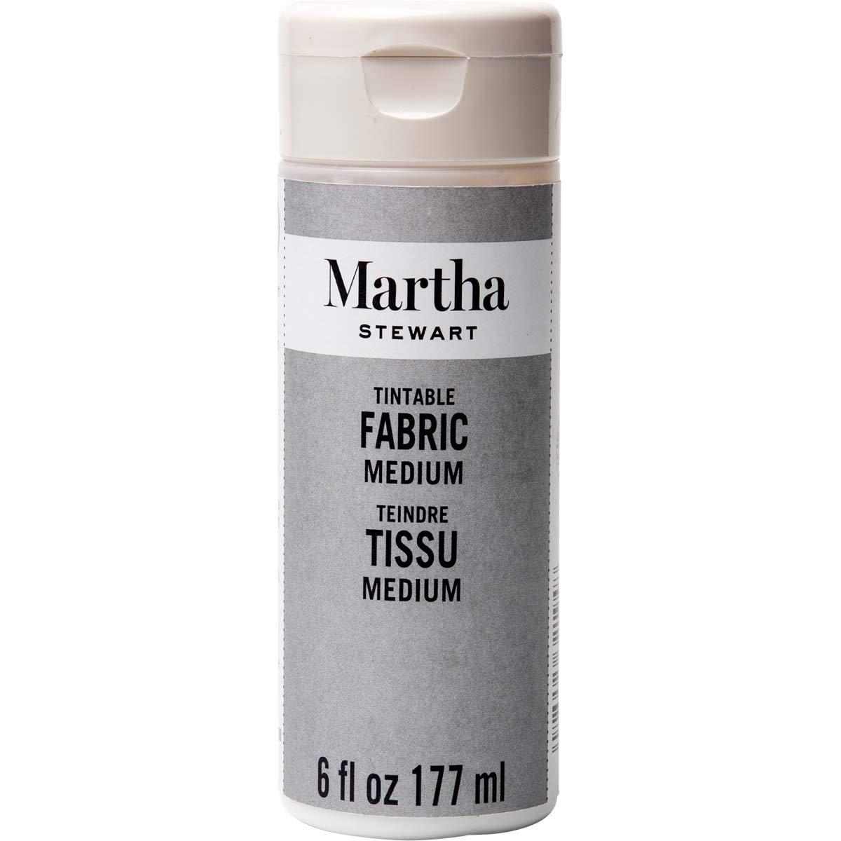 Martha Stewart Crafts Martha Stewart Tintable Fabric Medium Paint, 6 oz