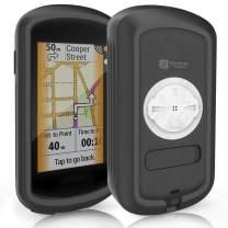 TUSITA Case Compatible with Garmin Edge Explore GPS - Silicone Protective Cover - Touchscreen Touring Bike Computer Accessories