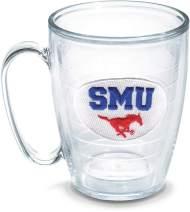 Tervis South Methodist University Emblem Individual Mug, 16 oz, Clear