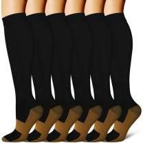 Compression Socks Women & Men-Best Medical,Nursing,Travel, Flight Socks-Running & Fitness Pregnancy