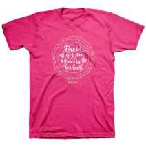 Kerusso Women's Fire in Her Soul T-Shirt - Pink -