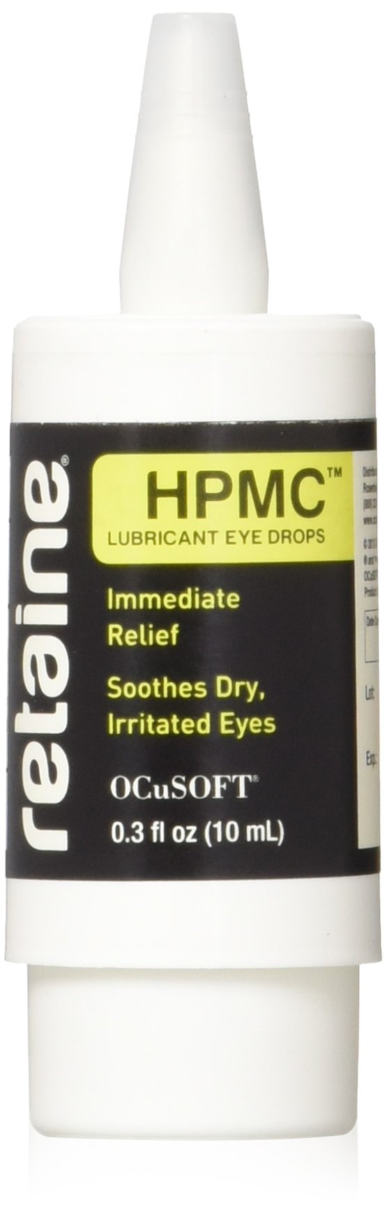 OCuSOFT Retaine HPMC 10 Milliters, Preservative-Free Lubricant Eye Drops