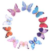 20 Pieces Butterfly Hair Clips Barrettes Girl Hairpin Hair Snap Clip for Toddlers Infants Kids Hair Accessories Baby Shower Gift