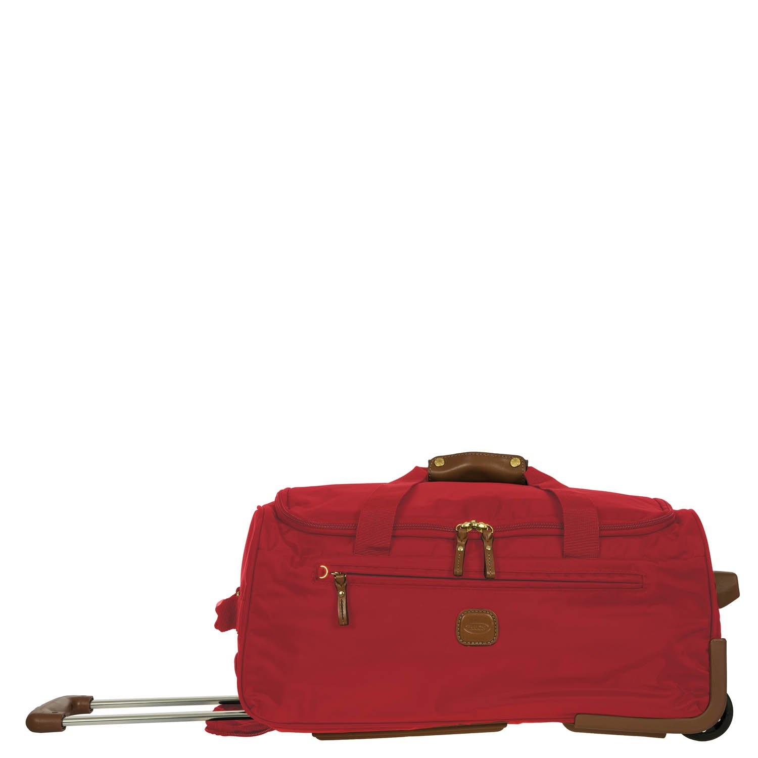 Bric's Luggage X-Bag 21-Inch Carry-On Rolling Duffel (Red)