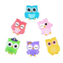 Owl Fridge Magnets Shinny Refrigerator Decorative Magnets 3D Cute Cartoon Funny Decoration for Locker Kitchen Office Whiteboards etc Suitable for Kids Toddlers and Adults