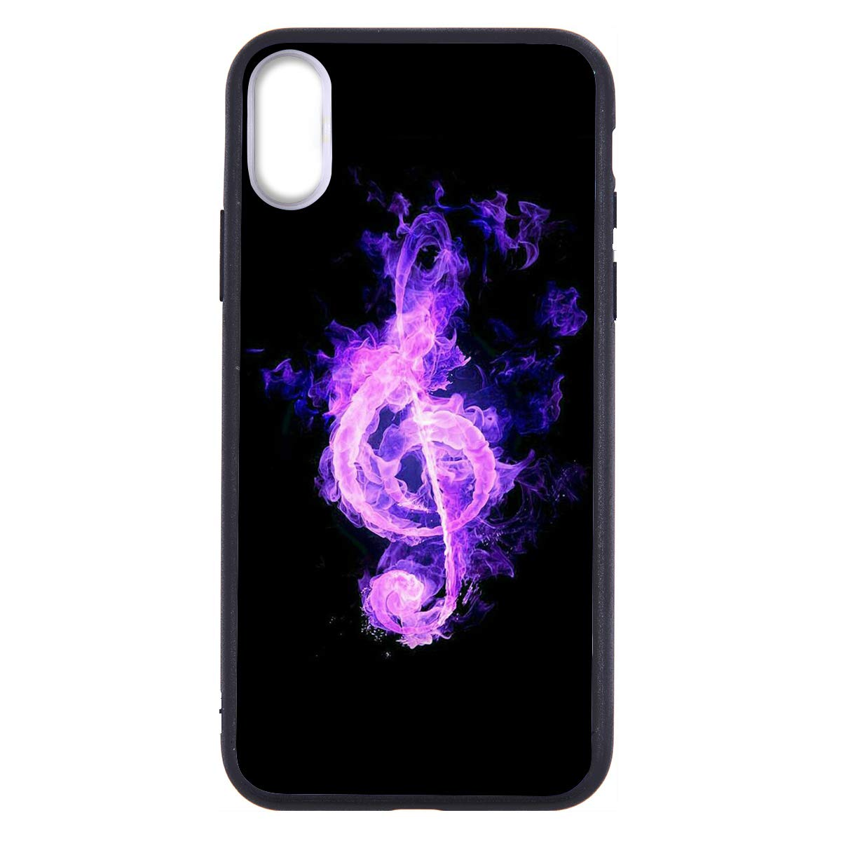 LuGeKe Burning Music Phone Case for iPhone6 Plus/iPhone6s Plus,Music Patterned Cool Design Case Cover,HardPCBackwithTPUBumper Anti-Stratch Bumper Protective Cool Boys Phonecase(Fire Music)