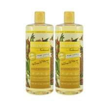Dr. Jacobs Naturals Pure Castile Liquid Soap - Natural Face and Body Wash, 32 oz, 2 Pack - Free of Parabens, Sulfates, Synthetics, Gltuen and GMO … (Almond Honey)