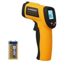 ANGGO Infrared Thermometer, Non-contact Digital Laser Temperature Gun -58℉~788℉(-50℃~420℃) for Cooking/Air/Refrigerator/Pet