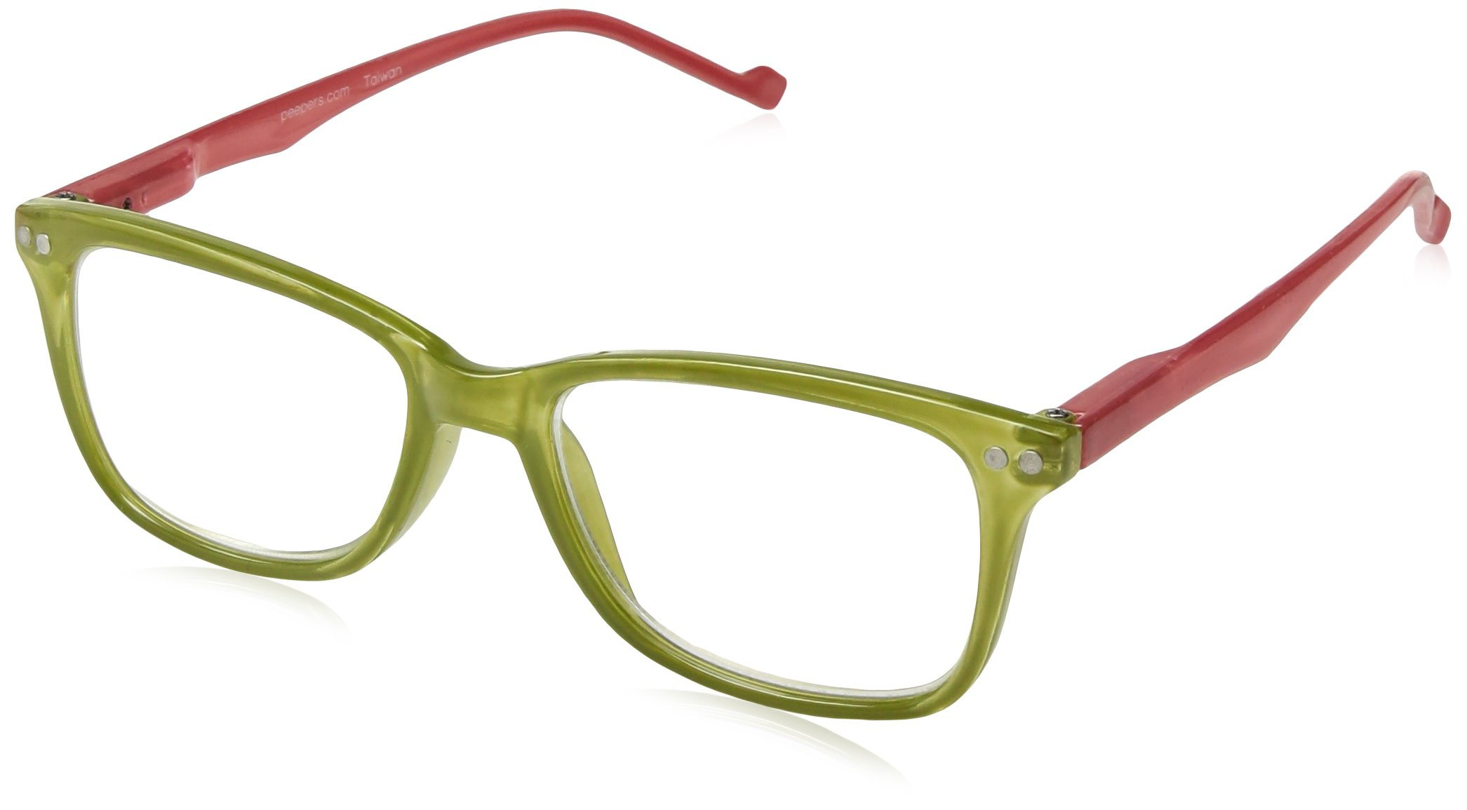 Peepers by PeeperSpecs womens New Wave Square Reading Glasses