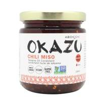 Award-Winning Premium Japanese Chili Miso Oil - 8 oz Savoury, Umami-Rich Condiment Handcrafted in Canada by Abokichi - All Natural, Vegan, No MSG, Non-GMO, Gluten Free, Sauce, Marinade