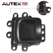 AUTEX Door Handle Interior Front/Rear Right Passenger Side Compatible with Dodge Durango 1998 1999 2000 Replacement for Dodge Dakota 00 Door Handle 81635 RZ121AZAA