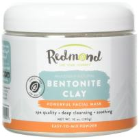 Redmond Clay - Bentonite Clay – 100% Natural Sodium Bentonite and Calcium Clay of 1000 Uses (10 oz.)– Soothing Facial Mask. Beauty and Personal Care