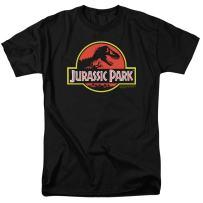 Jurassic Park Classic Logo T Rex T Shirt & Stickers