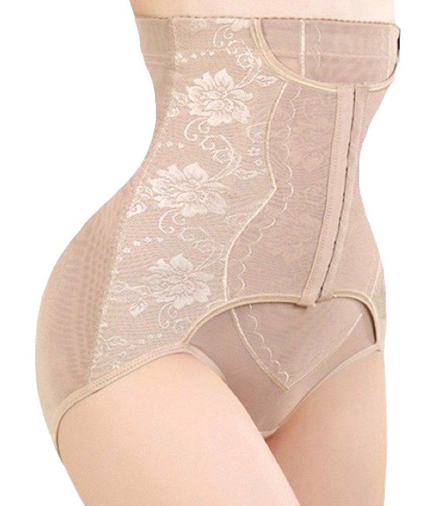 Sweet Cherry 850 - Womens Waist Cincher Body Shaper Trainer Girdle Faja Tummy Control Underwear Shapewear (Plus Size)