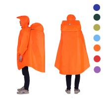 Adventure World Globotrekker Lightweight Backpack Poncho (Multiple Color Options Available)