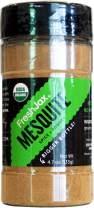 FreshJax Premium Organic Spices, Herbs, Seasonings, and Salts (Certified Organic Mesquite Powder - Large Bottle)
