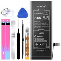 NOHON Battery Replacement Compatible for iPhone 6s, 2225mAh High Capacity Li-ion Battery with Complete Repair Tool Kit and Instructions - Included 24 Months Warranty