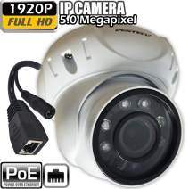 IP poe Dome Security Camera with Motorized Zoom 5mp Outdoor onvif 1920p