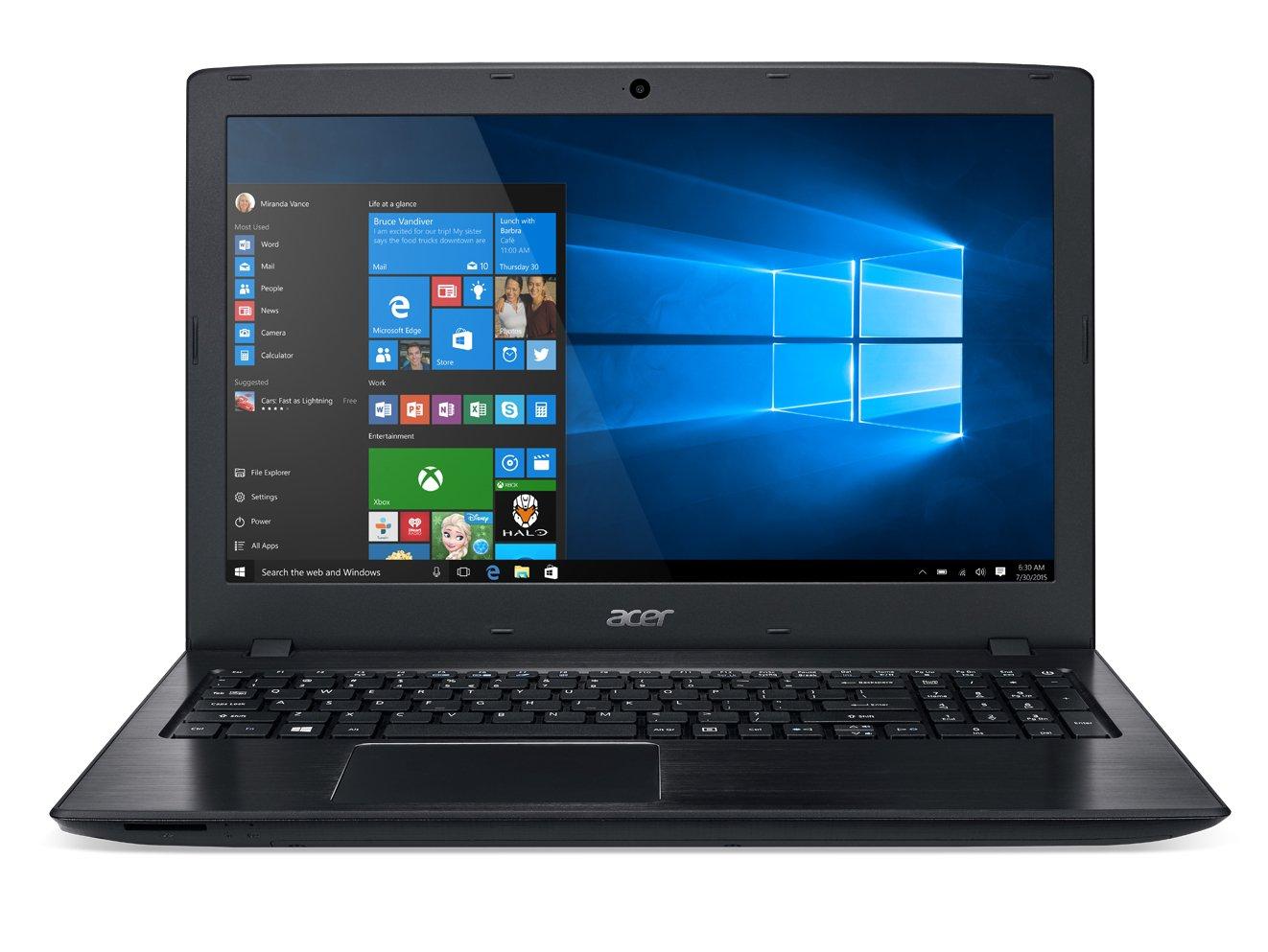 Acer Aspire E 15 E5-575G-76YK 15.6-inch Full HD Notebook (Intel Core i7, NVIDIA 940MX, 8 GB DDR4, 256GB SSD, Windows 10 Home 64-bit Edition),Black