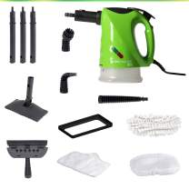 H2O SteamFX Pro 5 in 1 All Purpose Hand Held Portable Steam Cleaner System for Home Use, with 9 Piece Accessory Kit