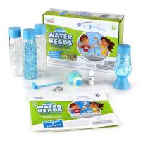 hand2mind Science Kit Squishy Water Beads, Science Kit for Kids Ages 5-7, Includes Storybook, Sensory Toys Kit, Sensory Ball and Sensory Bottles, at Home Science Experiments for Kids, Learning Game