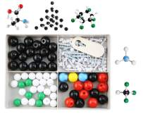 Chemistry Molecular Model Science Kit with Atoms and Bond Parts for Student and Teacher (122 Pieces)