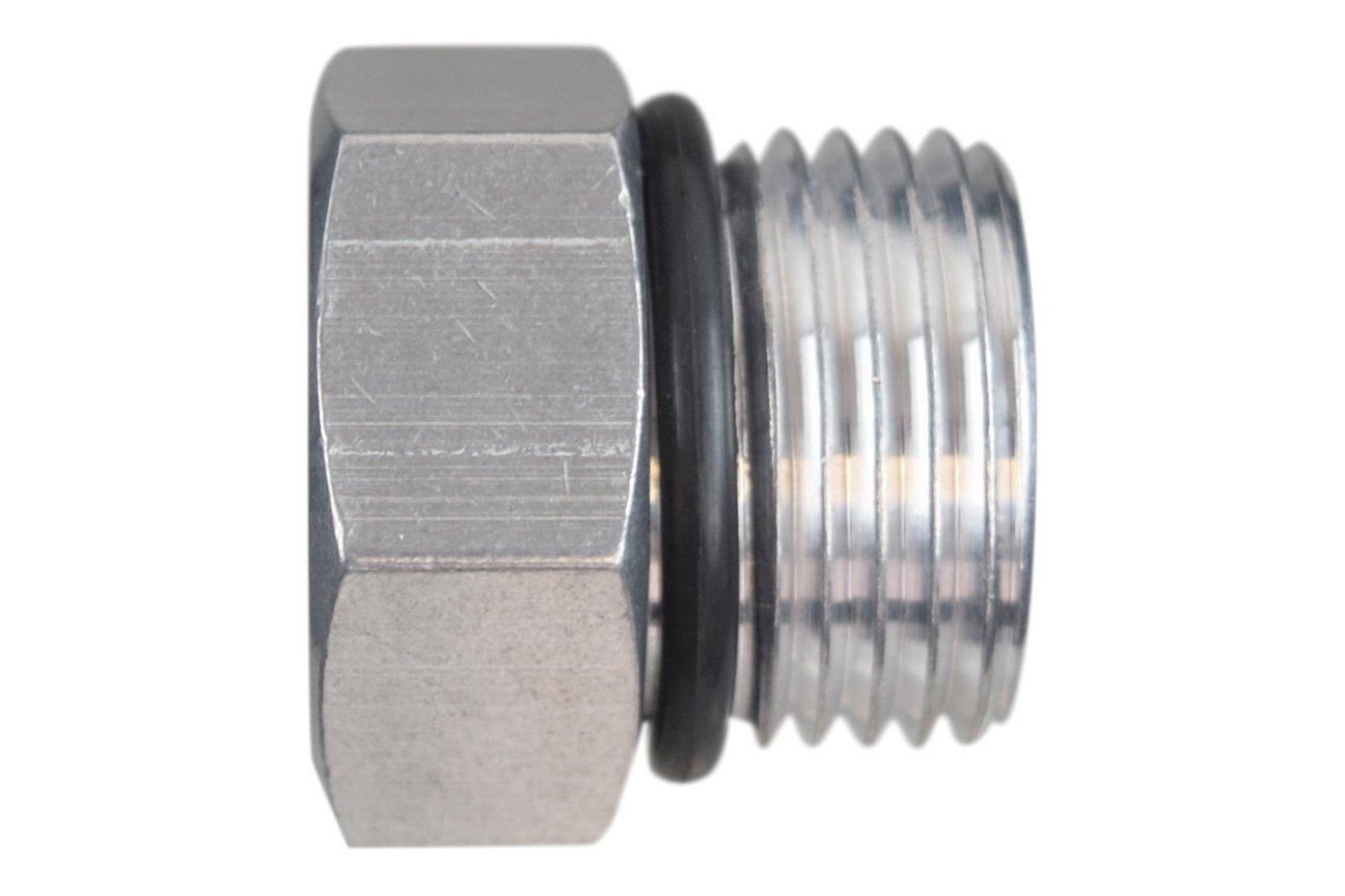ICT Billet -10AN ORB Straight Thread Plug Male Nut Cap Fitting Aluminum AN814-10A