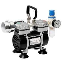 MXBAOHENG Oilless Vacuum Pump Lab Oil Free Piston Vacuum Pump Mini Mute Pump 35L/min -0.09MPa (110V)