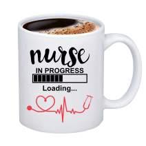 CENWA Nurse in Progress Student Nurse Mug Nursing Student Gift Future Nurse Gift Nurse Graduation Mug Gift (Nurse in Progress mug)