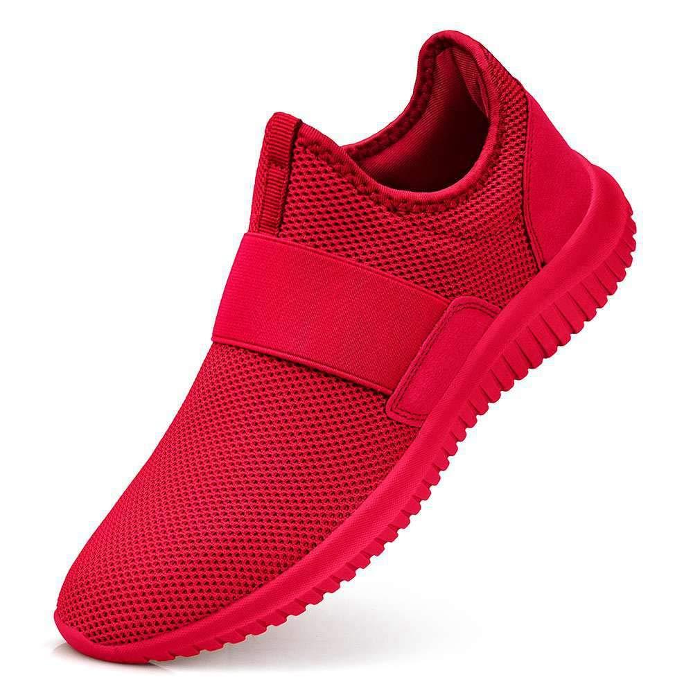 Guteidee Women's Sneakers Slip On Fashion Mesh Sports Walking Working Non Slip Shoes