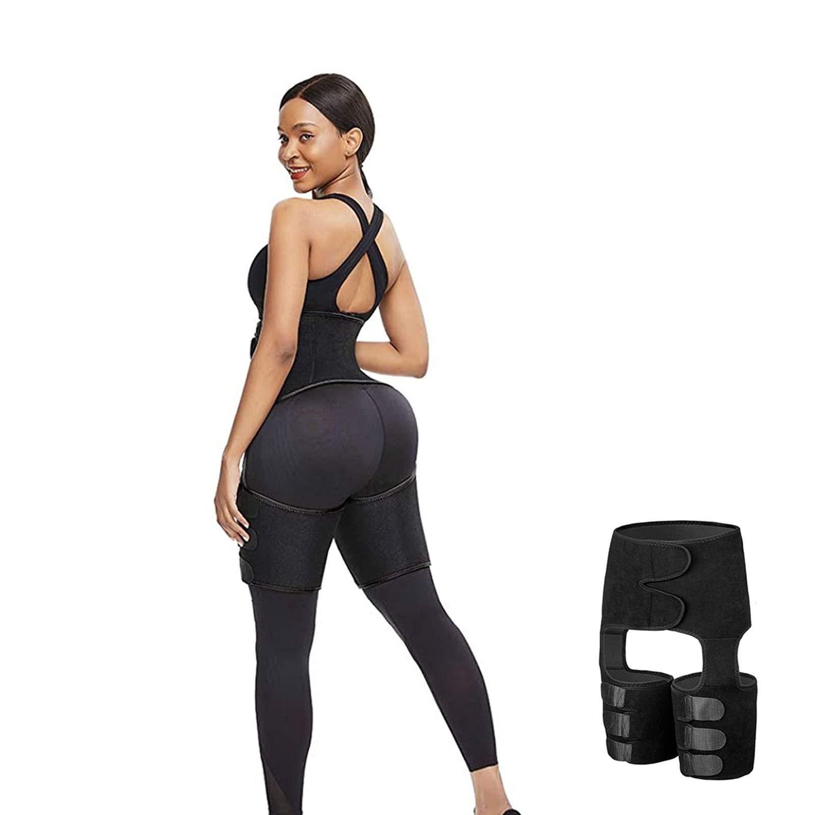Waist Trainer for Women Thigh Trimmer Butt Lifter Workout Slimming Belt