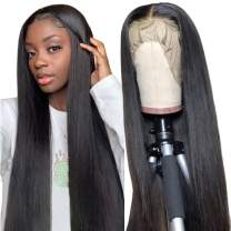 Human Hair Lace Front Wigs for Black Women 150% Density Brazilian Straight Lace Front Wig with Baby Hair Short Bob Wigs 12 inch
