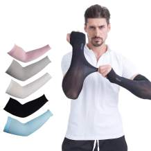 Arm Sleeves UV Protection Cooling Sleeves for Cycling,Driving,Golf,Fishing,Outdoor Sun Protection Cover Arms.JNINTH