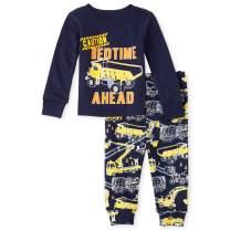 The Children's Place Baby Boys Construction Pajama Set