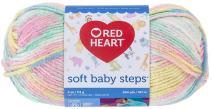 Red Heart Soft Baby Steps Yarn, Binky Print