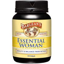 Barlean's Essential Woman Oil Blend from Flax Oil with Omegas 3, 6 and 9 and GLA - Non-GMO, Gluten Free - 120 Softgels