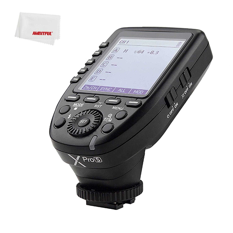 Godox xpro Xpro-S XPros TTL Wireless Flash Trigger 1/8000s 11 Customizable Functions Compatible for Sony Camera Godox TT685S TT350S V860II-S V350S