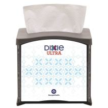 """Dixie Ultra Tabletop Interfold Napkin Dispenser (Formerly EasyNap) by GP PRO (Georgia-Pacific), Black, 54527, Holds 300 Napkins,5.900"""" W x 7.480"""" D x 6.640"""" H"""