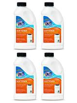 OUT Filter MateWater Softener Cleaner and Salt Booster Powder, 24 oz Bottle 4-Pack