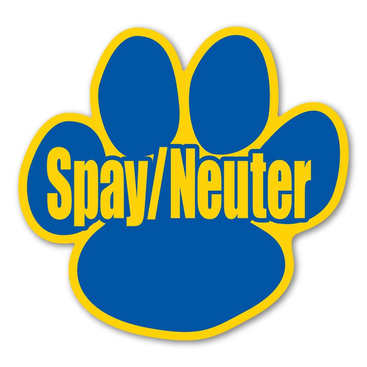 Spay/Neuter Your Pet Paw Magnet