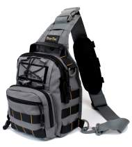 TravTac Stage II Small Sling Bag, Premium Everyday Carry Tactical Sling Pack 900D