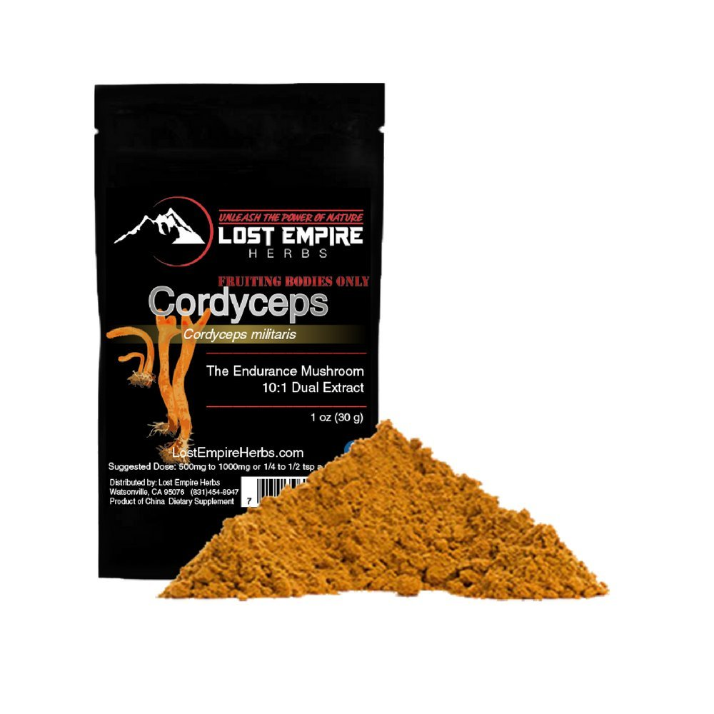Organic Cordyceps Extract Powder - Energy and Stamina - Immune Support - Non-GMO, Gluten Free, Paleo and Vegan Friendly - (30 g)