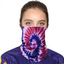 Xpenyo Seamless Face Mask Bandanas for Dust, Outdoors, Festivals, Sports,Windproof Scarves