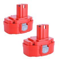 Biswaye 2 Pack 1822 Replacement Battery 18V 3000mAh for Makita 1823 1833 1834 1835 1835F 192828-1 192829-9 193061-8 193102-0 193140-2 193159-1 193783-0