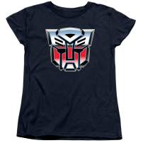 Transformers Autobot Airbrush Logo Women's T Shirt & Stickers