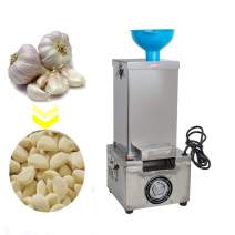Zinnor Garlic Peeler Machine Commercial Electric Stainless Steel Silicone Garlic Peeling Machine 110V 180W Garlic Peeler Machine Fast and Labor-saving Automatic Peeler (shipping from US)