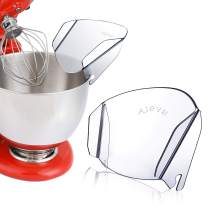 AIEVE Pouring Shield, for Kitchenaid Pouring Shield, Universal Splash Guard Pouring Shield for Kitchenaid Stand Mixer Bowl Attachments to Adding Dry and Wet Ingredients from Splashing out