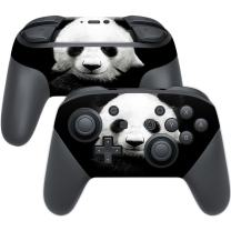 MightySkins Skin Compatible with Nintendo Switch Pro Controller - Panda | Protective, Durable, and Unique Vinyl Decal wrap Cover | Easy to Apply, Remove, and Change Styles | Made in The USA